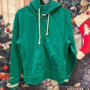 Mitchell &ness green sweatshirt